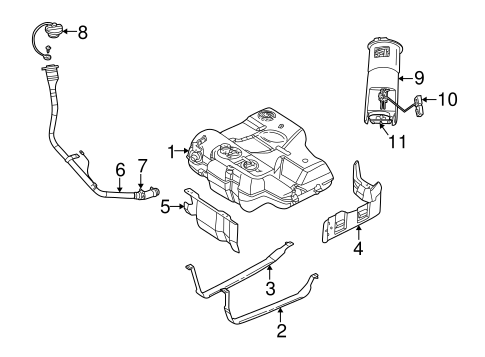 fuel system components for 2001 dodge intrepid