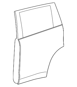 Door Shell - Toyota (67003-0E110)
