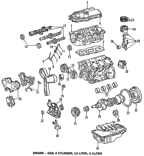 Crankshaft - Toyota (13401-20030)