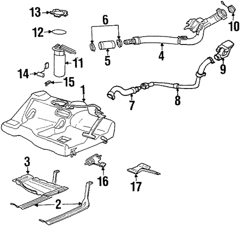 Chevy 350 Tbi Diagram additionally Purge Valve Location Ford F 250 additionally 2000 Chevy Venture 3400 Vacuum Diagram furthermore 7278m A98 Gmc Sonoma 2 2l Code Sayes Po452 moreover Wiring And Connectors Locations Of Honda Accord Air Conditioning System 94 07. on 98 chevy fuel tank