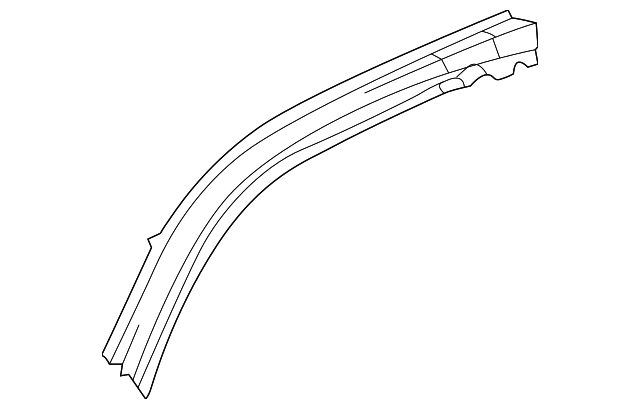 Roof Rail - Toyota (61214-20040)