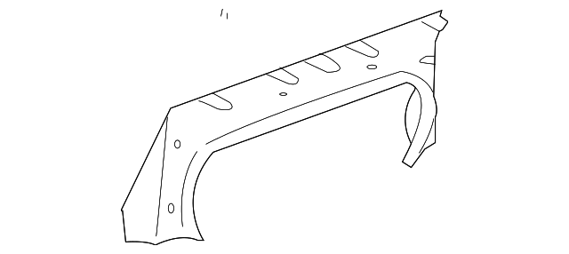 Partition Panel - Toyota (64271-AA030-C0)