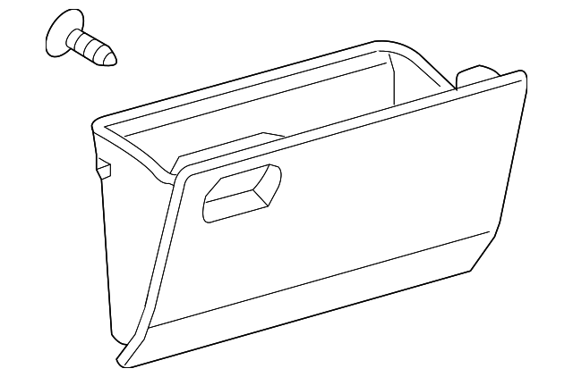 Glove Box - Toyota (55550-52170-B0)