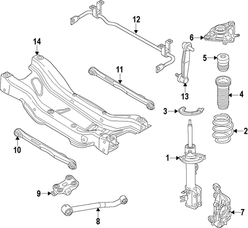 Mopar Control Arm Nut 6502698 further P 0996b43f80f65f4b furthermore 2009 10 Honda Pilot Clicking Noise  ing From The Front Suspension During Acceleration Or Braking further Engine And Trans Mounting Scat further Rear Suspension Scat. on jeep patriot strut