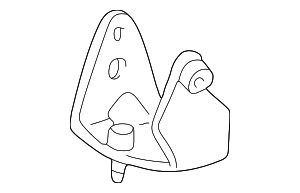 Lateral Rod Lower Bracket - Toyota (12314-0H010)