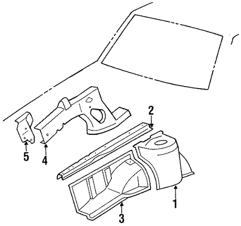 Front Extension - Toyota (57105-01011)
