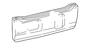Tail Gate - Toyota (65061-60231)
