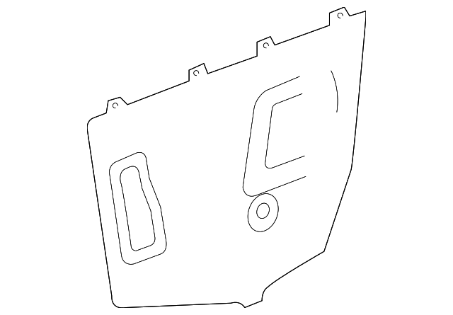 Access Cover - Toyota (67852-08010)