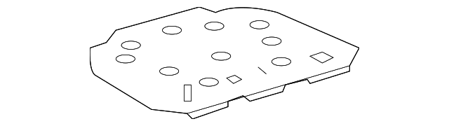 Spare Cover - Toyota (64770-33100)
