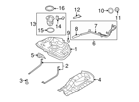 Moped Wiring Harness besides Pump And Hoses Scat together with Ford Latch Screw N811471s100 additionally Tbi Fuel System Diagram 1984 Ford Mustang further Filters Scat. on 32 ford fuel tank