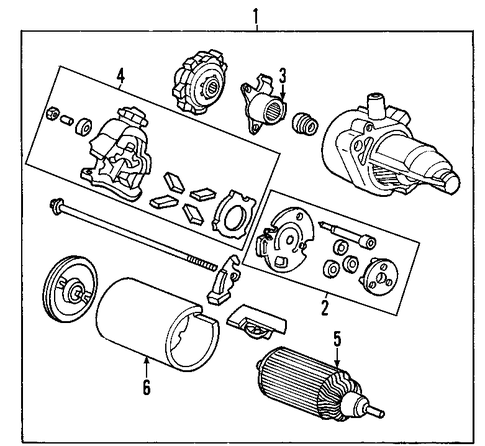Gear Set, Reduction - Honda (31220-RNA-A51)