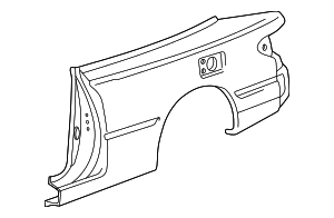 Quarter Panel - Toyota (61612-06080)