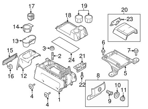 trailer wheel bearing diagram detail