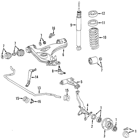 74593 Mazda 3 03 Mazda Transmission No 2nd Code P0757 as well How To Repack Your Wheel Bearings furthermore Drivetrain besides Steering parts furthermore 89 Jeep  anche Vacuum Diagram. on chrysler auto repair manual
