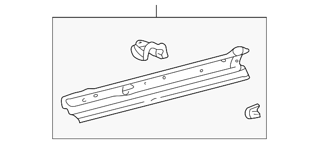 Floor Side Rail - Toyota (57401-20400)