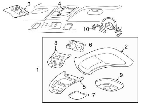 2001 Ford Explorer Sport Trac Parts Catalog