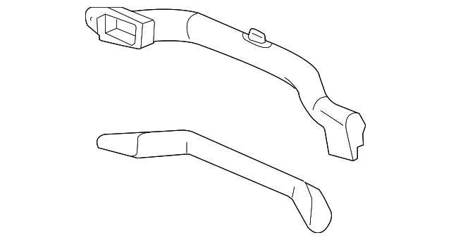 OEM Honda 77420-S2A-A02 - Air Duct
