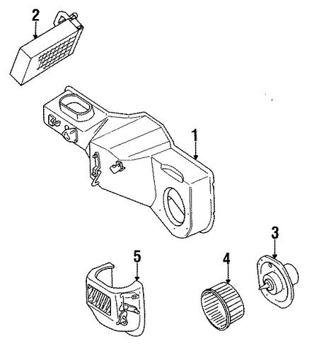 heater for 1991 jeep wrangler