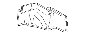 Trunk Side Trim - Toyota (64721-AA011-C0)