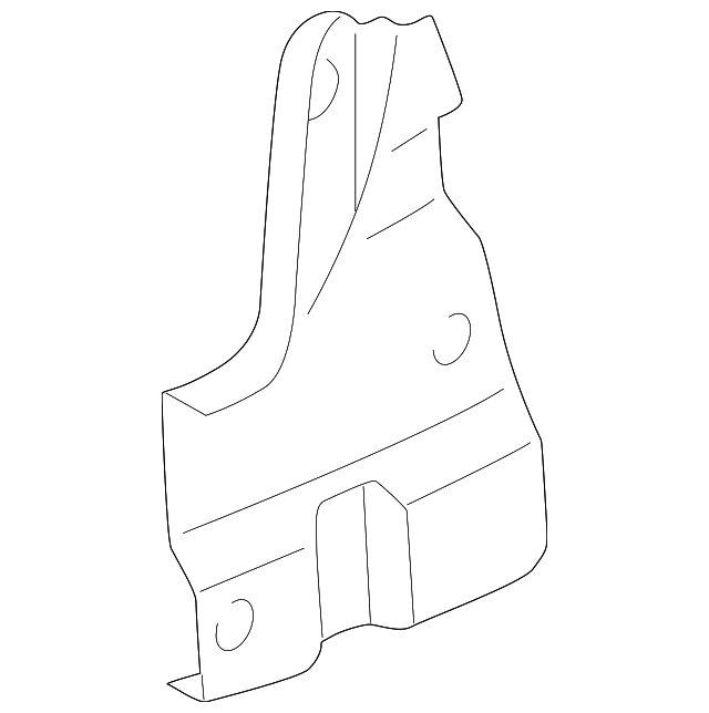 Rear Panel Trim Retainer - Toyota (64753-AA020)