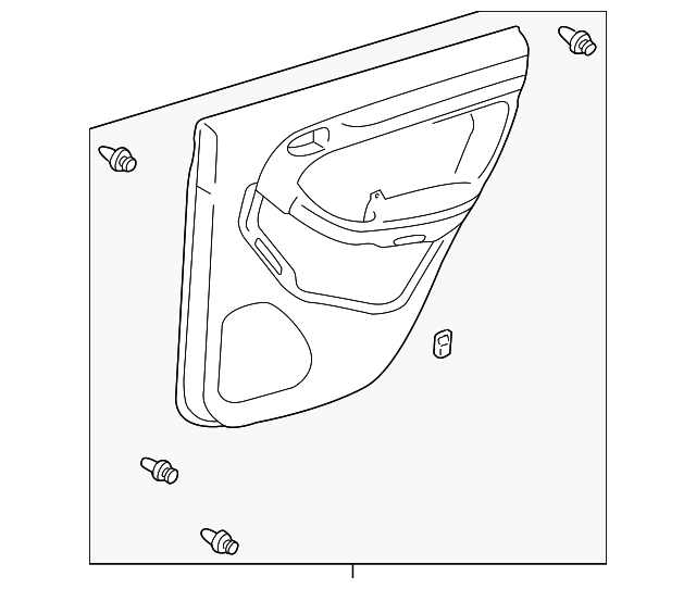 Door Trim Panel - Toyota (67630-35750-B0)