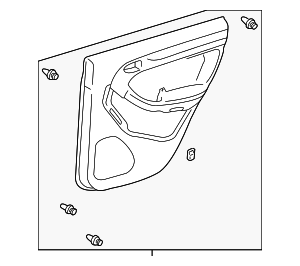 Door Trim Panel - Toyota (67640-35A00-B2)