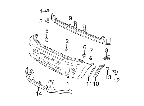Extension Pad - Toyota (53851-42100-B0)