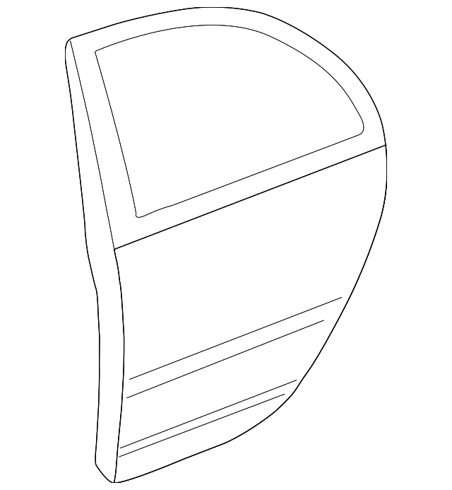 Door Shell - Toyota (67004-02190)