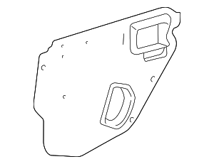 Water Shield - Toyota (67841-02090)