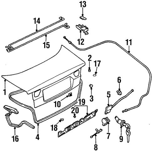 2000 Subaru Impreza Wiring Diagram likewise Toyota Land Cruiser 2006 Fuse Box Diagram additionally Subaru Other 2001 Subaru Outback Automatic 90k 4 Cylinder likewise Lid And  ponents Scat likewise Interior Trim Front Door Scat. on 1996 subaru legacy engine