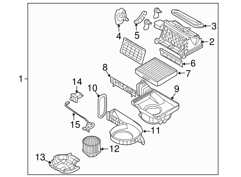 1998 Plymouth Breeze Front Suspension Diagram