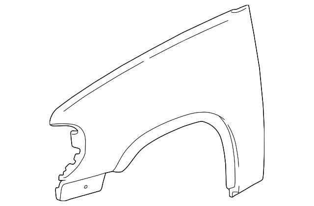 wheel opening molding for 2002 ford explorer