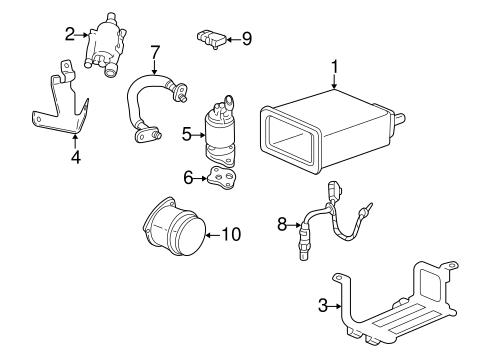 egr system for 1998 cadillac seville