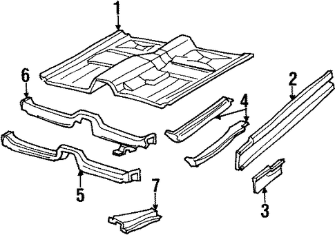 Rear Floor And Rails Scat as well Structural  ponents And Rails Scat likewise 1cbar Remove Replace Clutch 99 Ford F 150 also 1986 95 Mustang Fuel Line O Ring Kit in addition Structural  ponents And Rails Scat. on ford 6 0 fuel rails