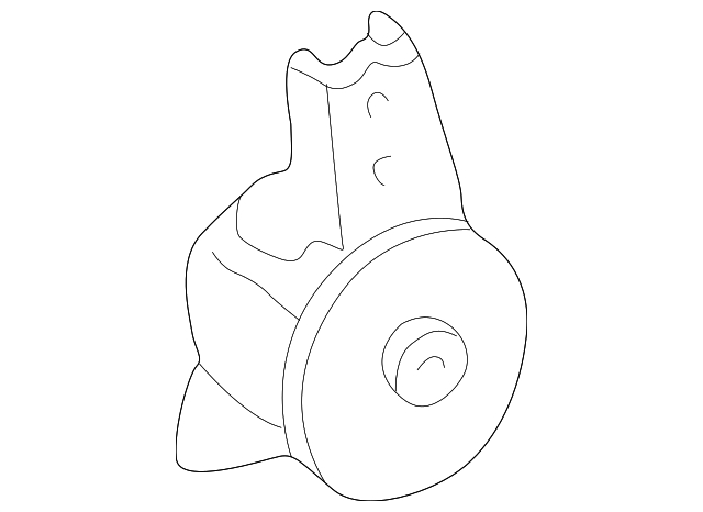 Rear Insulator - Toyota (12371-0A050)