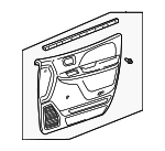 Door Trim Panel - Toyota (67620-08040-E1)