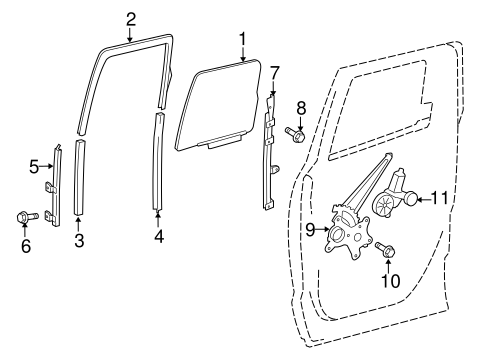 BODY/REAR DOOR for 2015 Toyota Tundra #2