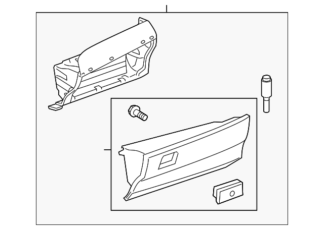 Glove Box Assembly - Toyota (55303-06041-B0)
