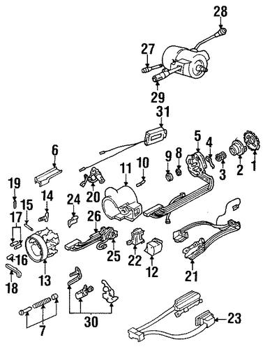 switches for 1999 pontiac bonneville