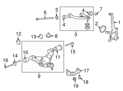 FRONT SUSPENSION/SUSPENSION COMPONENTS for 2014 Toyota Tundra #2