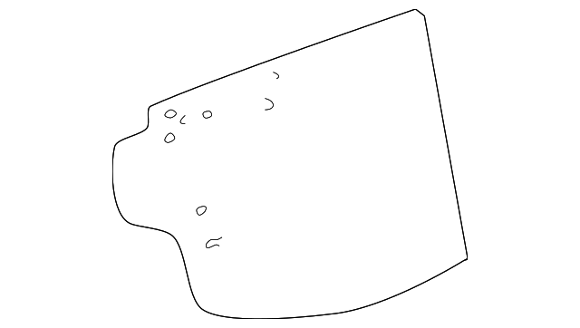 Water Shield - Toyota (67831-42060)