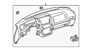 Instrument Panel - Toyota (55301-42040-B0)