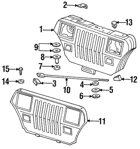 Egr Valve Location On A 2002 Neon further In A Tiburon Intake Air Temperature Sensor Location further Grille And  ponents Scat together with 88 150 Mercury Wiring Diagram furthermore Fuel filter chrysler town  And  country oemparts. on 1988 chrysler conquest