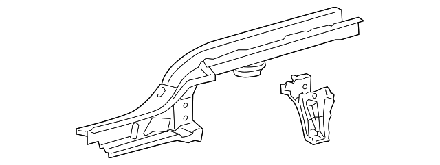 Rear Rail - Toyota (57601-0D382)