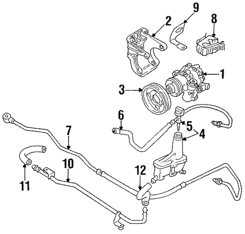 P 0900c152800ad9ee additionally Post 2001 Mustang Parts Diagram 430607 in addition Power Steering Pumps besides Servo Tuyau Tuyau Dextension Tuyau Hydraulique Vw Golf 162126513048 furthermore 2011 Chevy Cruze 1 8 Engine. on vw golf steering pump