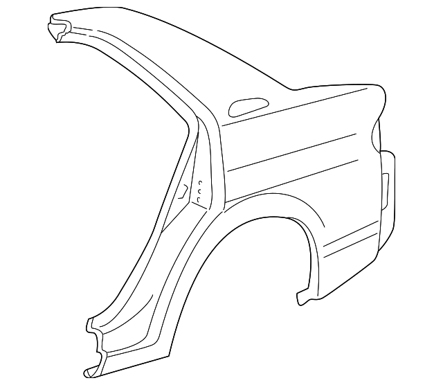 Quarter Panel - Toyota (61602-47031)