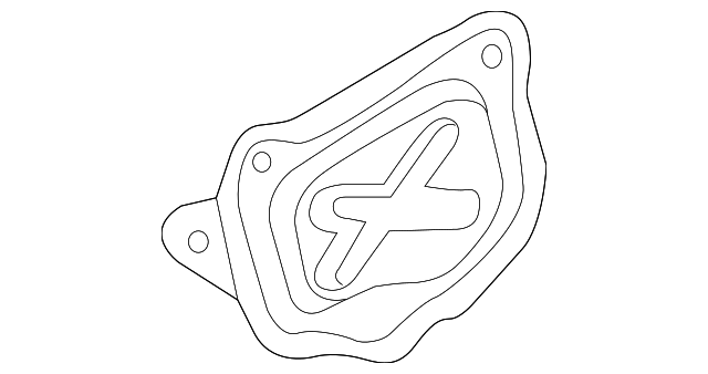 OEM Honda 11412-PNA-000 - Access Cover