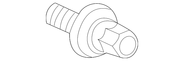 BOLT-WASHER (16X49) - 2004 Honda ELEMENT (90017PCX013)