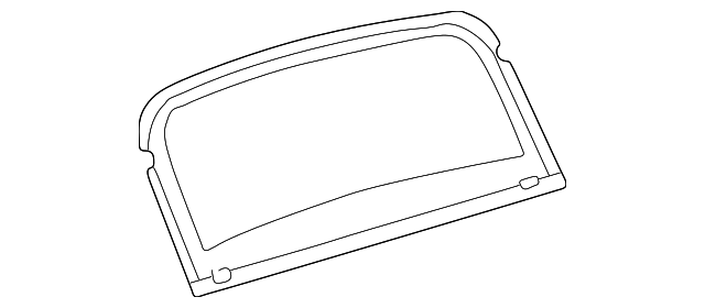 Back Glass - Toyota (64811-42010)