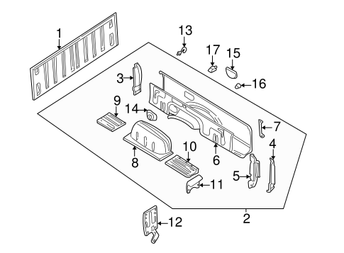 87 Nissan Pickup Parts Diagram